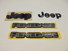 2016 Jeep Renegade Special Edition Justice Emblems Set of 4 Mopar Factory Oem