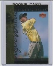 TIGER WOODS ROOKIE CARD Athlete of the Year RC Upper Deck PGA LE