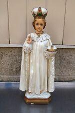 """+ Nice older Infant of Prague Statue +  16 1/2"""" ht. + (#785) + + + chalice co."""