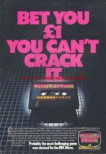 Castle Quest Micropower BBC Micro 1985 Vintage Magazine Advert #5260