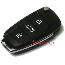 AUDI A4 A6 A8 TT Q5 Q7 3 Button 433 MHZ KEY REMOTE 8E0 837 220 F ORIGINAL #A3