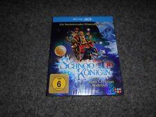 Blu-ray la reina de nieve (2d y 3d versión en 1 disc) como nuevo
