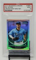 2013 Bowman Chrome PADRES Star WIL MYERS Rookie Refractor Mini Card PSA 9 MINT
