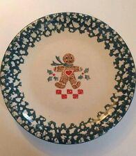 """""""GINGER BREAD"""" FolkCraft Tienshan China Set of 4 Dinner Plates- 10 ½"""""""