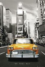 New York Taxi Poster Yellow Cab, sepia 61 x 91,5 cm