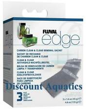 FLUVAL EDGE FILTER SET, BIOMAX FOAM, CARBON SET & ALGAE CLEAR SACHET REPLACEMENT
