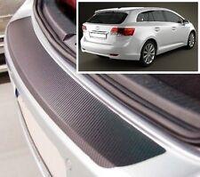 Toyota Avensis MK3 Kombi - Carbon stil hintere Stoßstange Schutz
