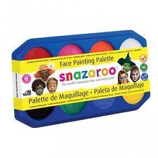 Snazaroo FACE PAINTING 18ml Palette - 8 Colours (Paints 450 Faces Kids/Party)