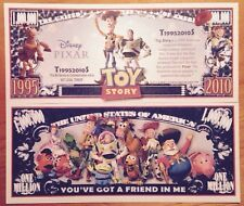 Disney Pixar Toy Story Million Dollar Bill