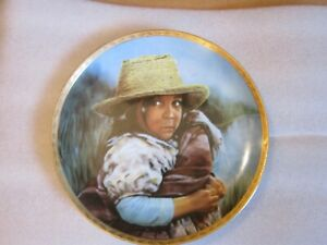 """""""GIRL WITH STRAW HAT"""" 1ST Edition-""""TO YOUNG TO SWEET""""-BY SUSIE MORTON-No Box"""