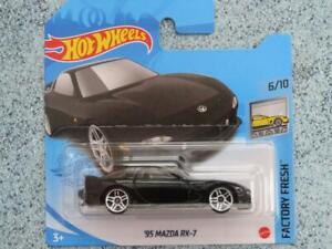 Hot Wheels 2021 #088/250 1995 Mazda RX-7 black @D