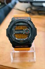 Casio G-Shock GLX-150 G-Lide Tide Graph Watch Orange/ Black