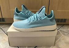 "Original Adidas PW Pharrell Williams Tennis HU ""Ice Blue"" Gr. 42 2/3 CP9764 NEU"