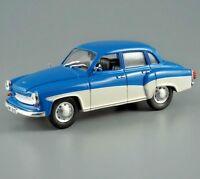 WARTBURG 312 East German Limousine Mittelklasse 1/43 Scale Diecast Model Car
