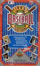 1992 UPPER DECK LOW BASEBALL Box Unopened 36 packs