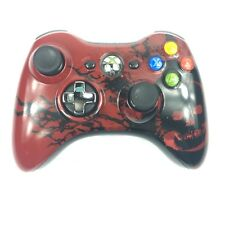 Xbox 360 Remote Controller Gears Of War 3 Limited Edition Red - Works Tested!