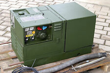 Bundeswehr 1,9KW Gleichstrom, Stromerzeuger, Diesel, 530Stunden, Tel070258705135