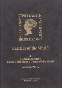 Swiss Combination Covers plus Rarities of the World, 2005 Feldman Catalog