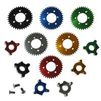 "Modified CNC 36T Sprocket With Adapter Fit 1.5"" Hub 49-80cc Motorised Bicycle"
