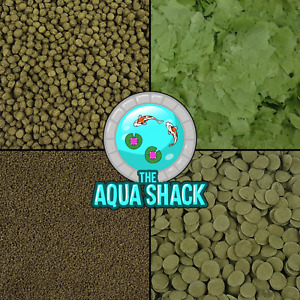 Spirulina Fish Food - Flakes Pellets Granules Wafers Tropical Coldwater Marine