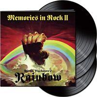 """Ritchie Blackmore's Rainbow - Memories In Rock II (NEW 3 x 12"""" VINYL LP)"""