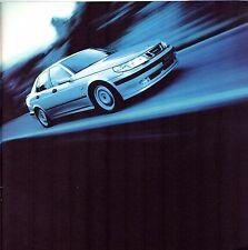 Saab 9-5 Saloon 1998-99 UK Market Brochure Griffin SE 2.0t 2.0T 2.3t 3.0 V6t