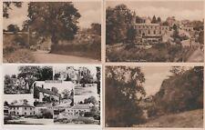 Pilton Somerset - 4 black & white postcards
