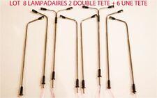JOUEF LIMA ROCO 8 LAMPADAIRE DE VILLE  LED 110 mm HO  1/87 12 VOLTS AVEC 510 Ω