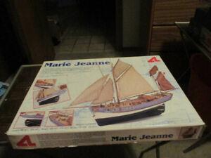 Open box, Artesania Latina 20170 Marie Jeanne 1:50 Scale Wooden Ship Model Kit