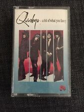 Quireboys - A Bit Of What You Fancy - Cassette Tape