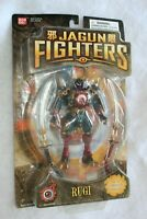 Bandai Jagun Fighters - Rugi with Stone Fighter New Unopened 2003