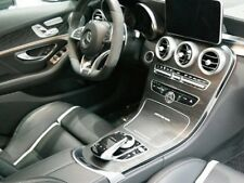 Mercedes-Benz OEM Genuine W205 C-Class AMG Ash Black Wood Trim Set Brand New