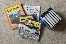 BJU Bob Jones Science 6 Student/Teacher Set With BONUS VHS Lessons GUC!!