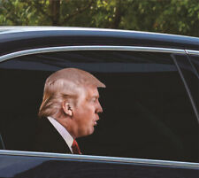 Trump Car Sticker Decal Ride with Donald Trump Car Window Decal 2024 Election