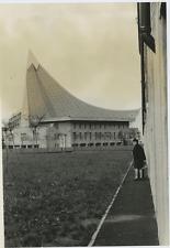 Italie 1968, Urbanisme, à identifier Vintage print,   Tirage argentique  1