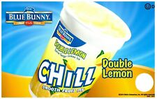 Ice Cream Truck Decal Sticker Blue Bunny Double Lemon Chill Ice Cup