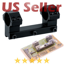 "Leapers High Profile Airgun .22 Dovetail Scope Mount Stop Pin 1"" Aluminum Solid"