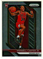 2018-19 Panini Prizm RC Rookie Wendell Carter Jr Chicago Bulls Duke Blue Devils