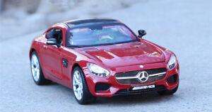 1:24 Maisto Alloy Static Sports Car Model Boys Toys For Mercedes Benz AMG GT