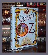 The Wizard of Oz by Frank Baum  00004000 New Sealed Leather Bound Collectible Deluxe Ed