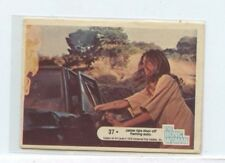 1976 Donruss The Bionic Woman #37 Jamie rips door off flaming auto