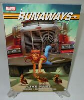 Runaways: Live Fast Brian Vaughan Marvel Comics Brand New TPB Trade Paperback