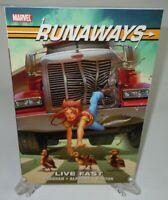 Runaways: Live Fast Brian Vaughan Marvel Comics Brand New TPB Trade Paperback