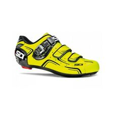 SIDI Level Road Cycling Shoes Bike Shoes Yellow Fluo/Black Size 36-46 EUR