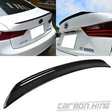 Carbon For LEXUS IS250 IS300h Sedan Sport B Style Trunk Spoiler 2018