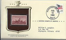 Smithsonian Institution Historical Stamps of America Sealed in Envelope 1980