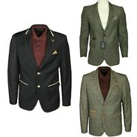 Mens Casual Blazer Formal Party Suit Coat Long Sleeve Business Jacket Outwear