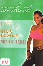BLOOD TYPE WORKOUT: TYPE O - KICKBOXING WITH (P Moreno) - DVD - Region Free