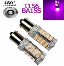 Purple Rear Turn Signal Light 1156 BA15S P21W 7506 1141 92 LED Bulb A1 Euro X