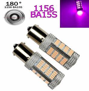 Purple Backup Reverse P21W 1156 2396 3497 BA15S 7506 1141 92 LED A1 Euro